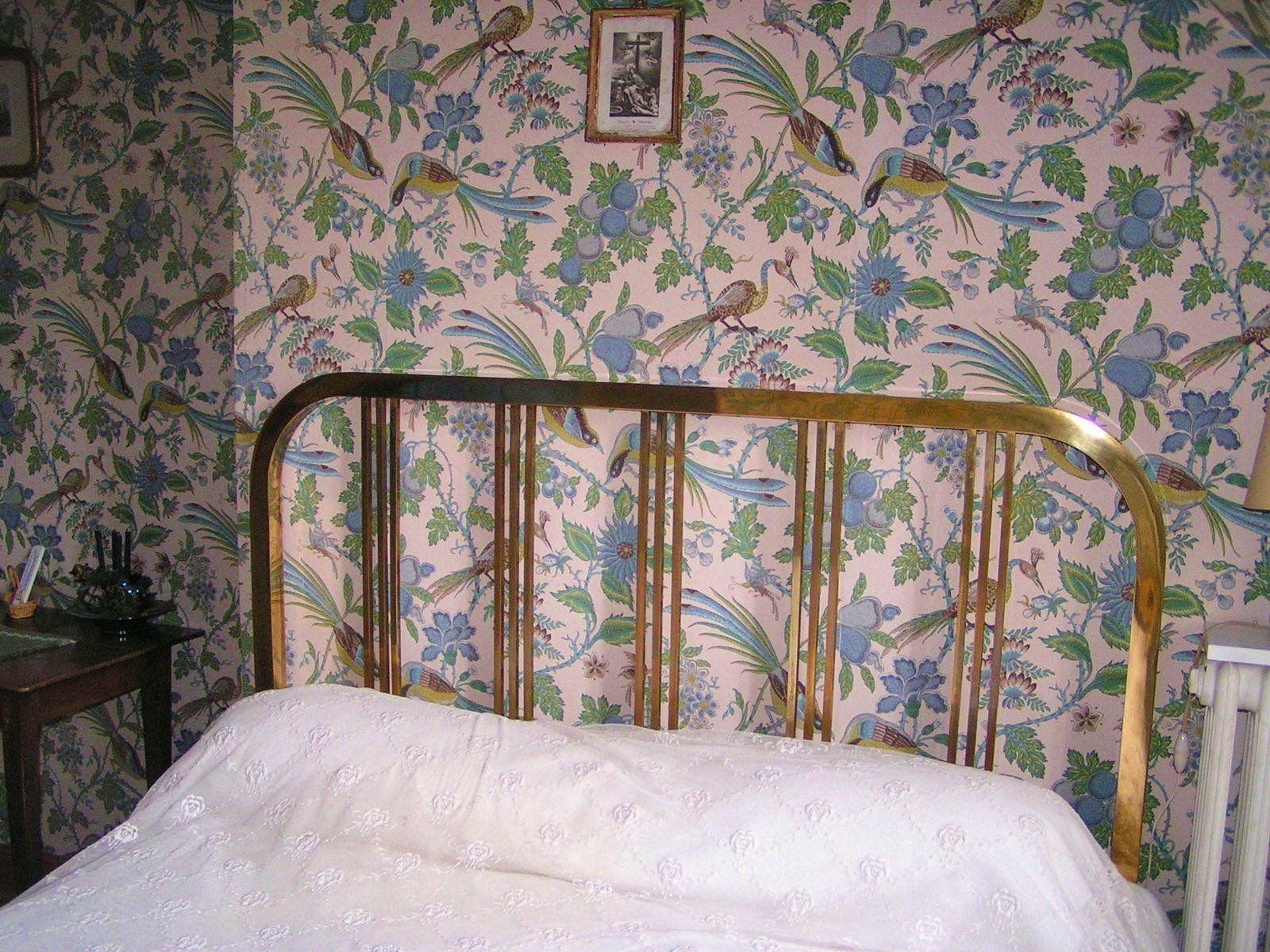 Vends très beau lit de cuivre (PARDON) fin XIXe
