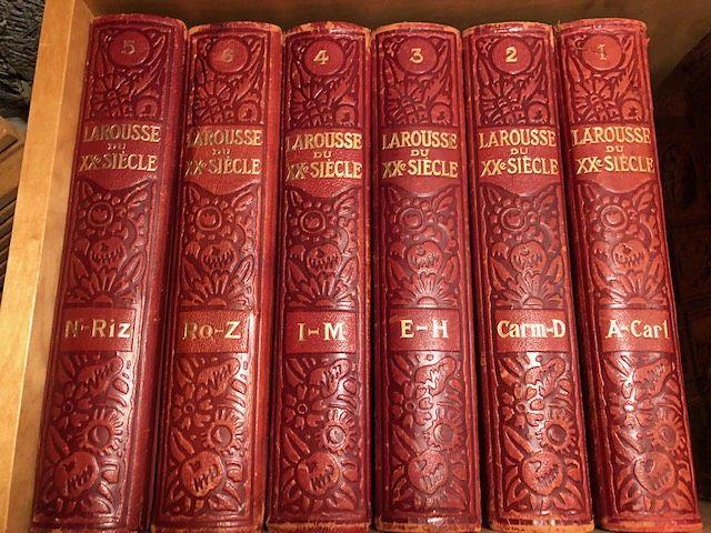 Vends Dictionnaire Larousse du XXe siècle - 6volumes