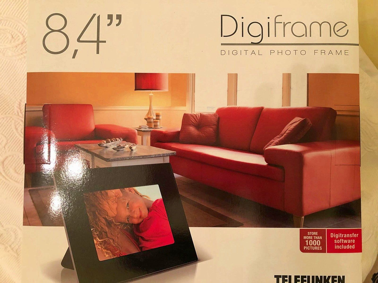 Vends Digicadre DPF8401telefunken