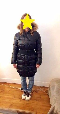 Vends doudoune noire femme taille 1- bon état