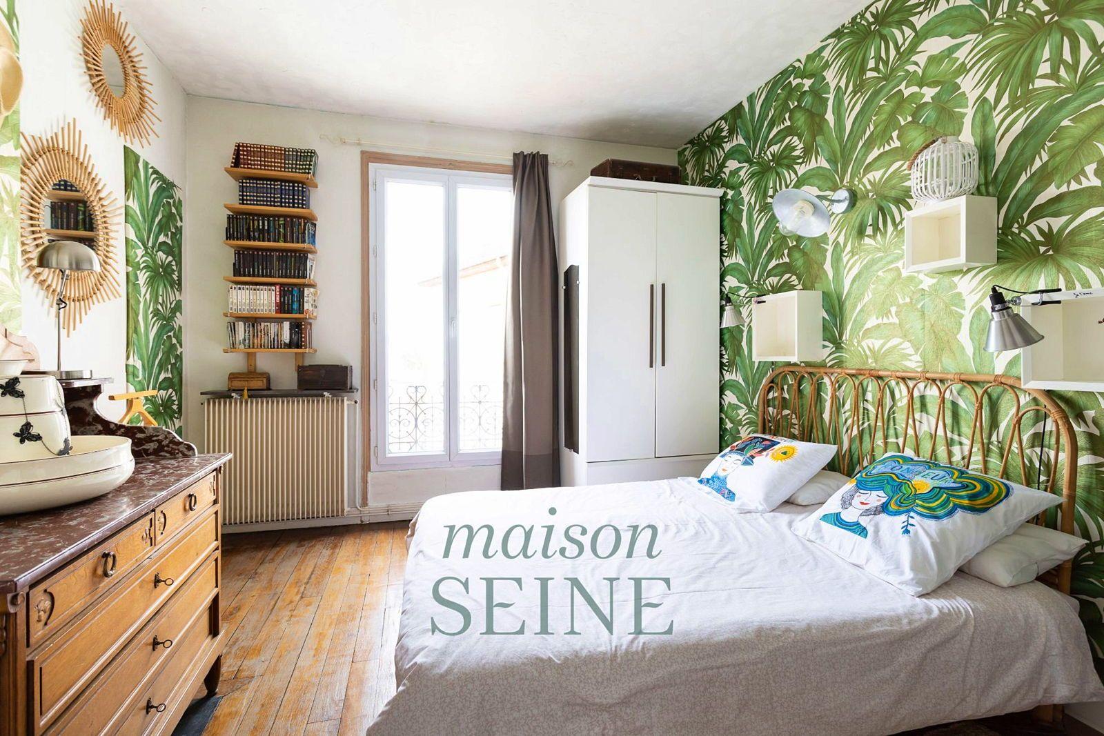 Vends duplex 5pièces 3chambres - 97m²- Dernier étage - Asnières (92) Alma Lehot