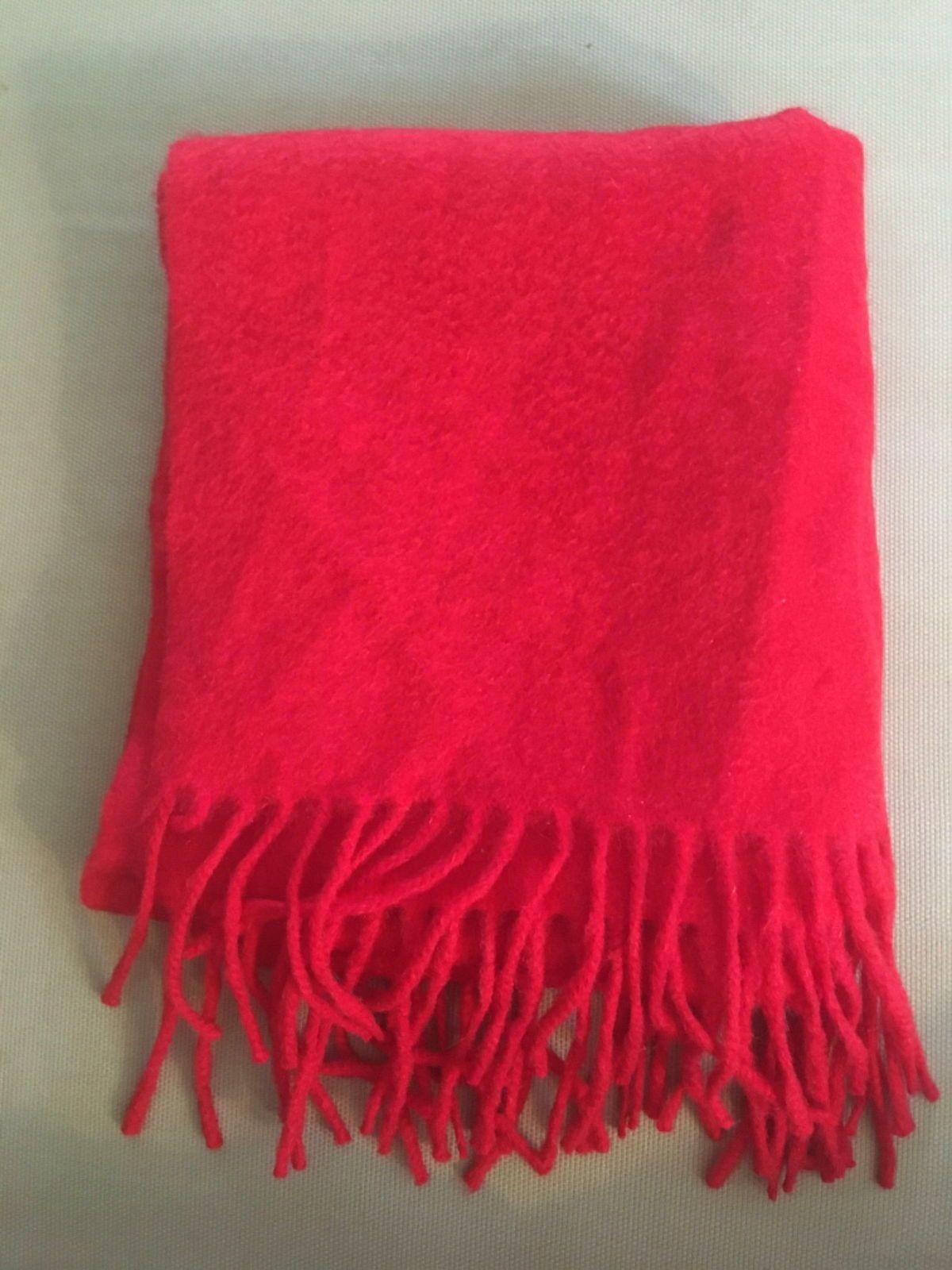 Vends écharpe cachemire rouge - Taille L