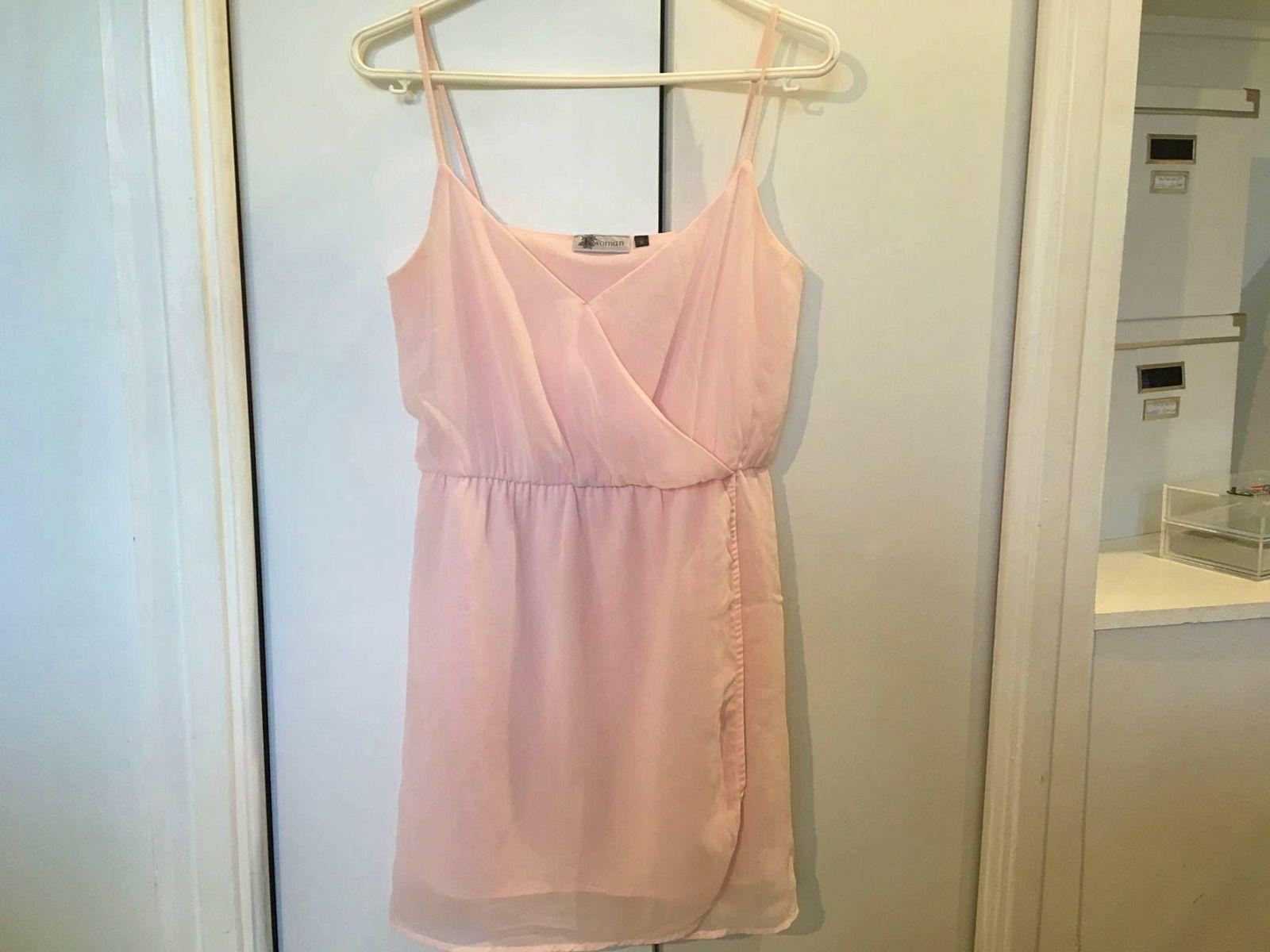 Vends robe estivale rose pâle - Taille XS