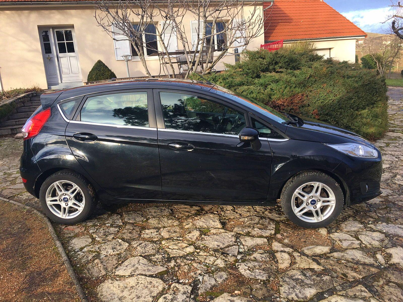 Vends Ford Fiesta tdci 70Titanium - 2013, 163500km