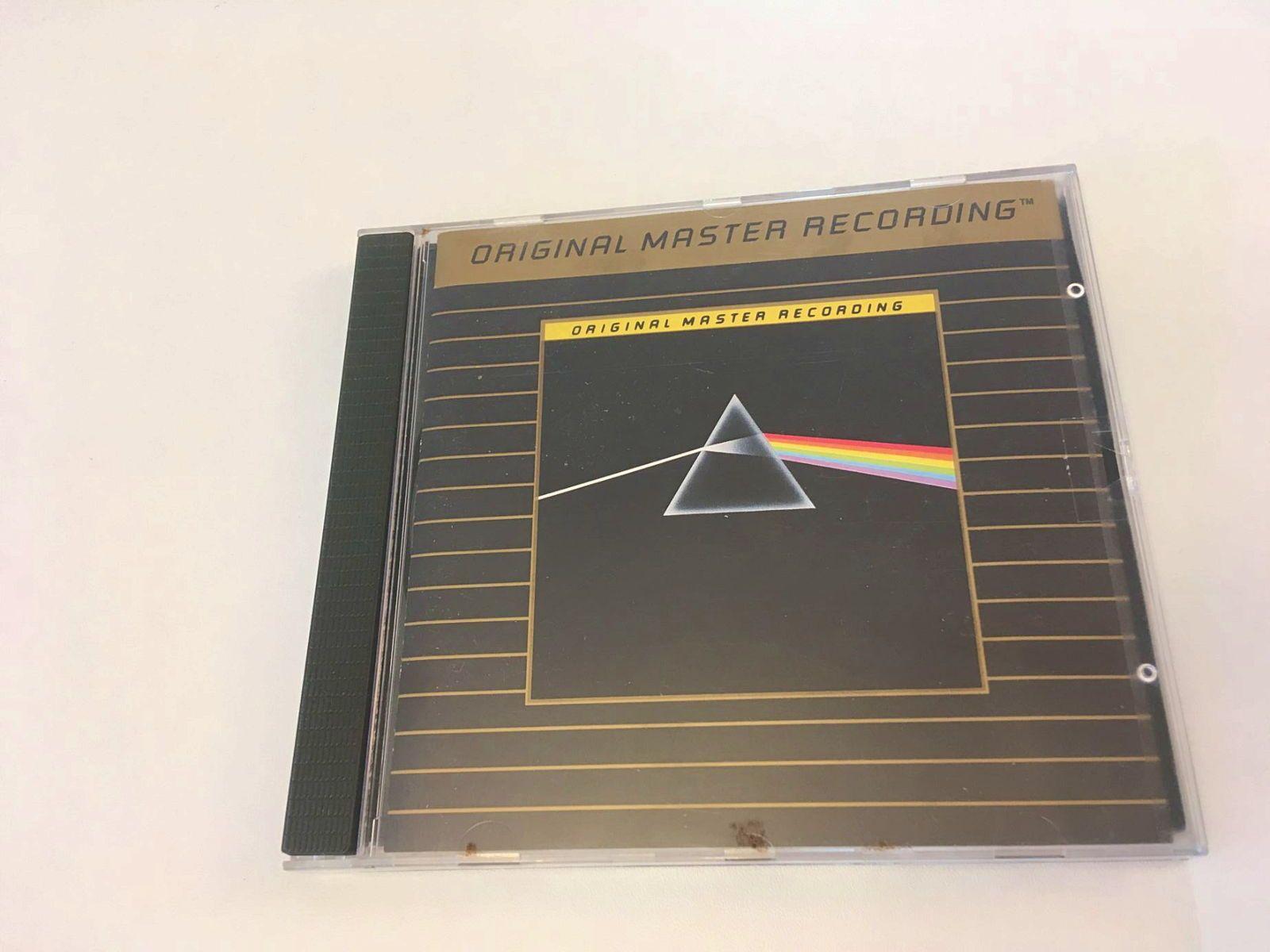 Vends Ping Floyd Dark Side Of The Moon-CD en or 24carats