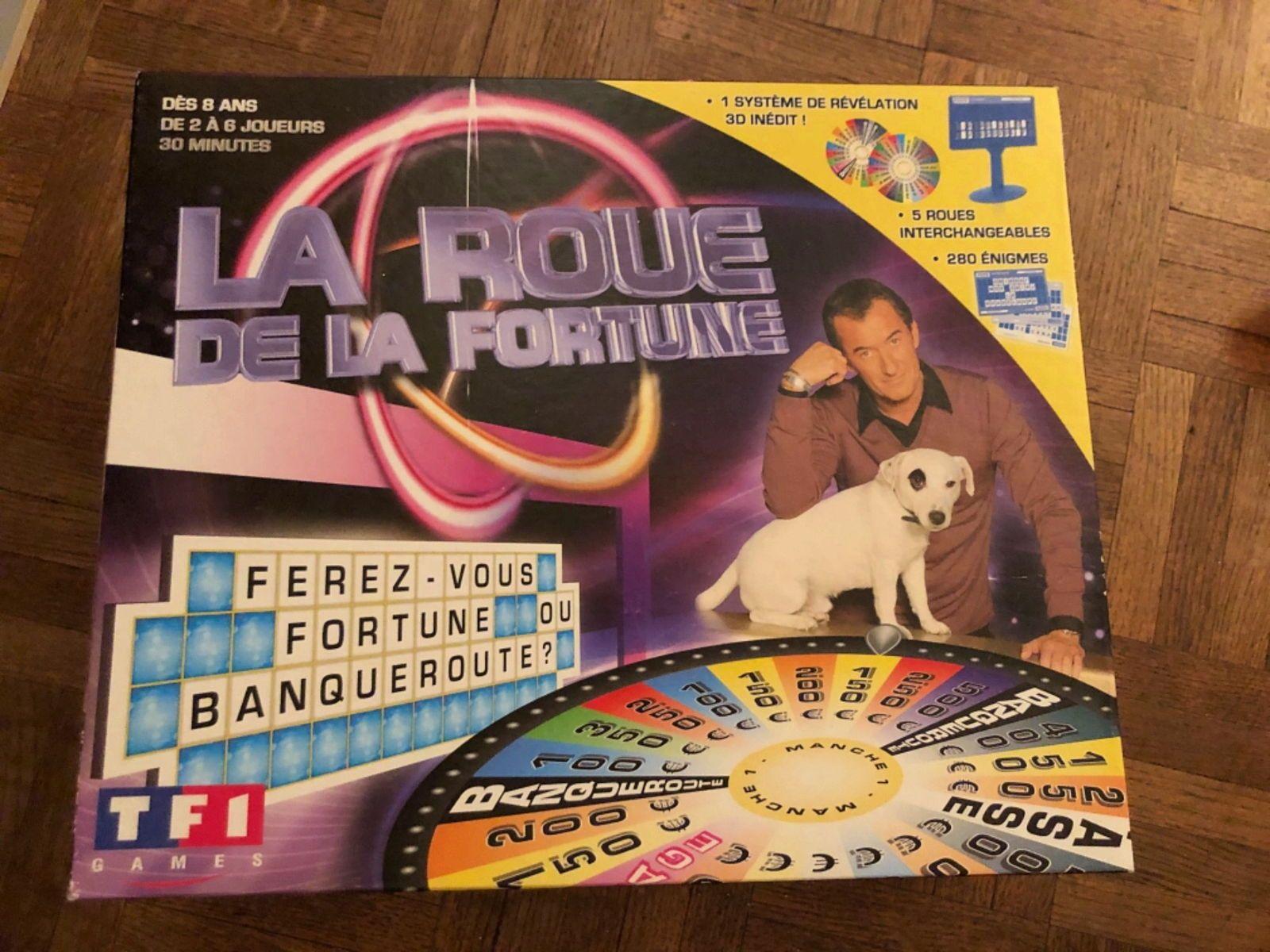 Vends La roue de la fortune jeux de société