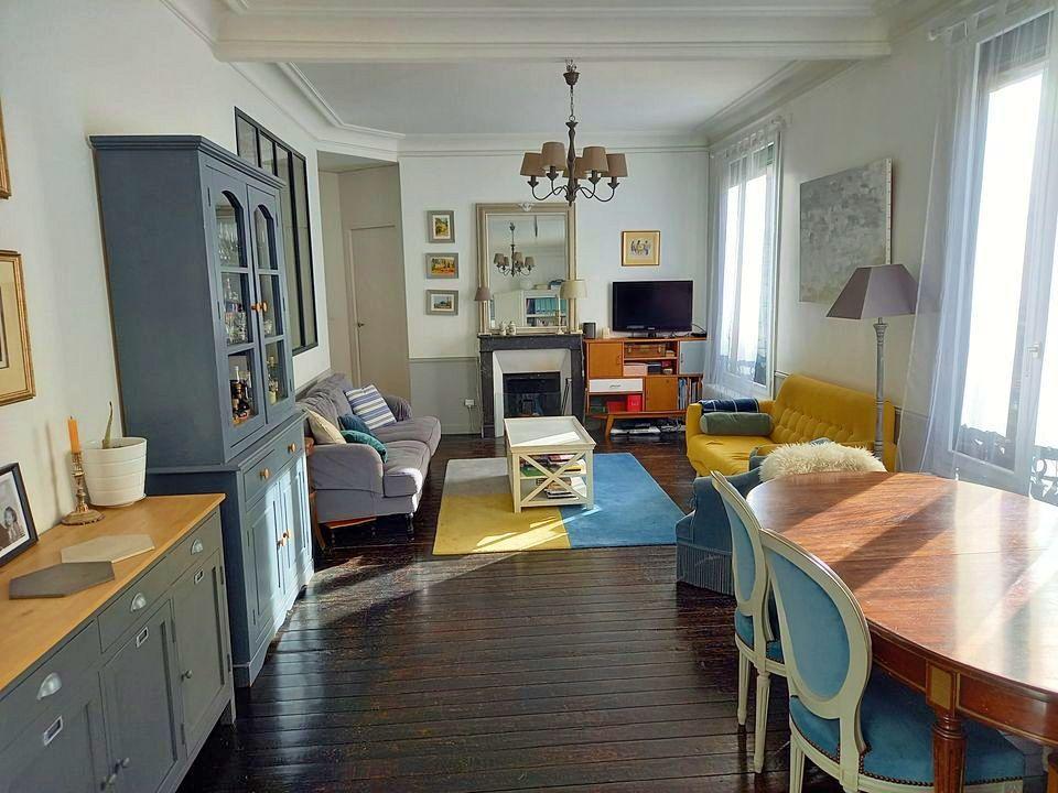 Vends Grand appartement à Asnières sur Seine (92) - 4chambres, 111m²