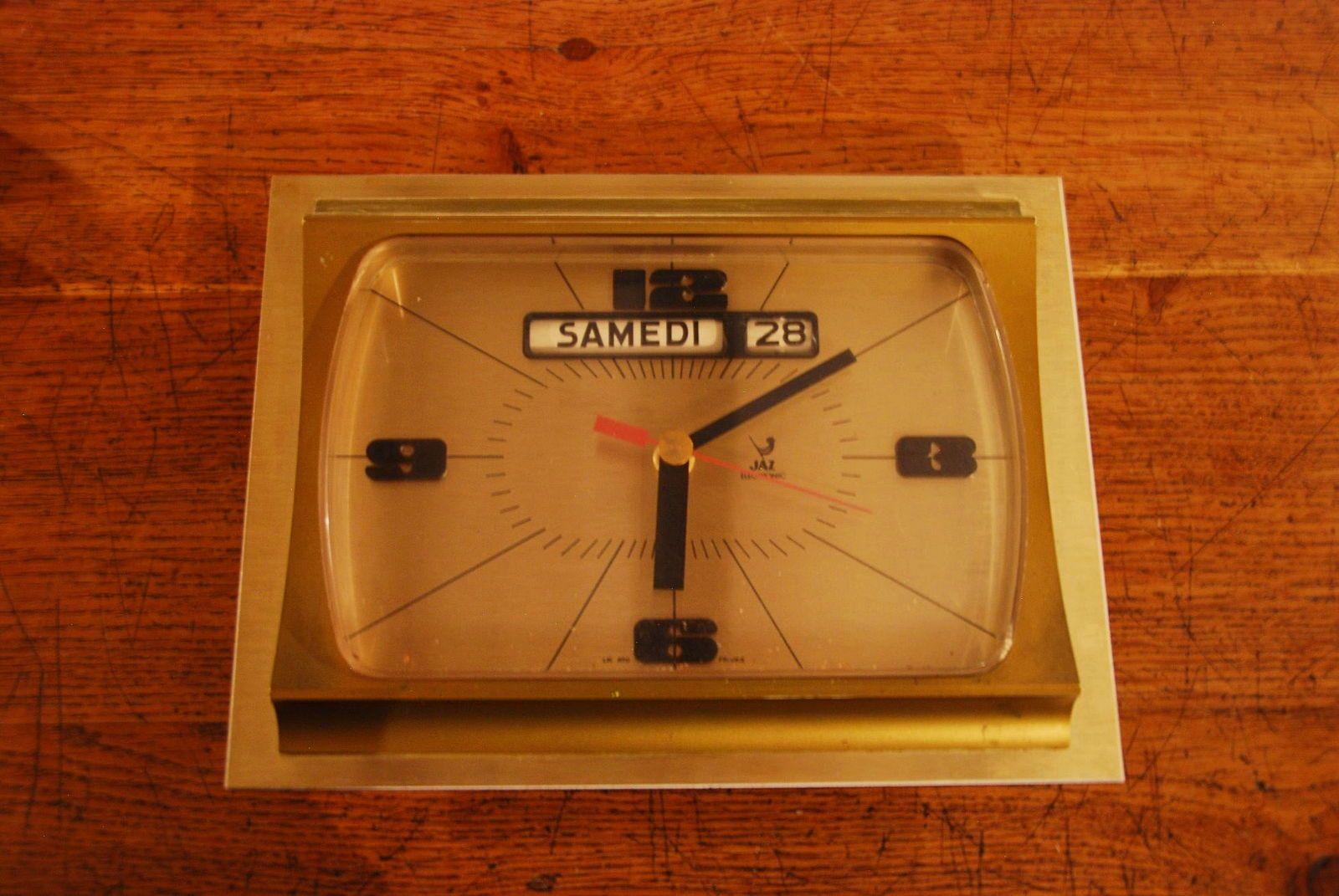 Vends Horloge Murale Jaz 70' s'
