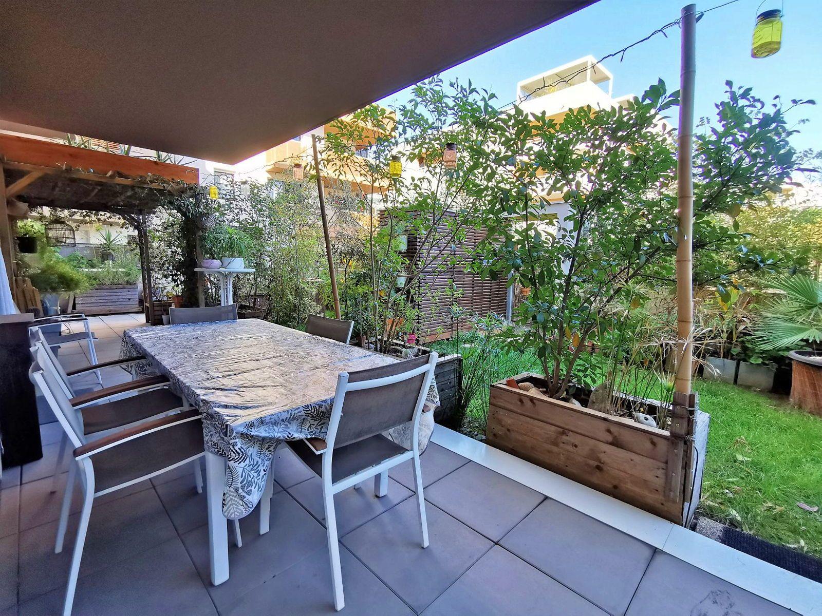 Vends un beau rez-de-jardin sur Montpellier Ovalie - 2chambres, 68m²