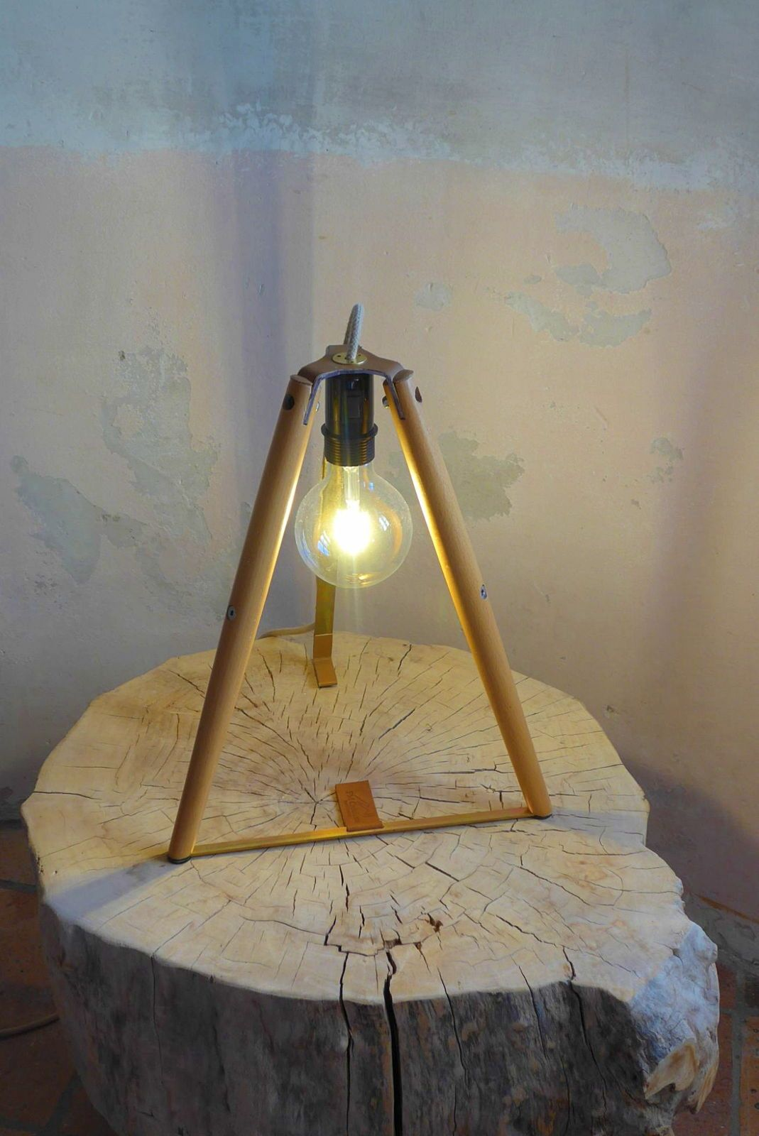 Vends lampe création artisanale