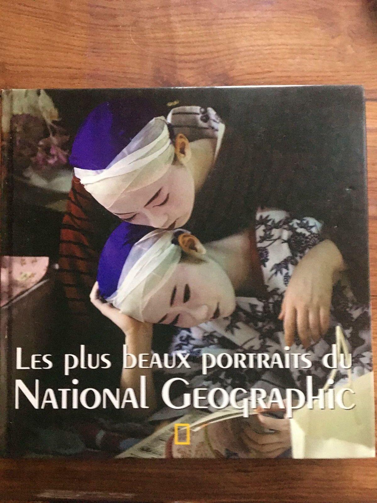 Vends livre Les plus beaux portraits de National Geographic, bon état