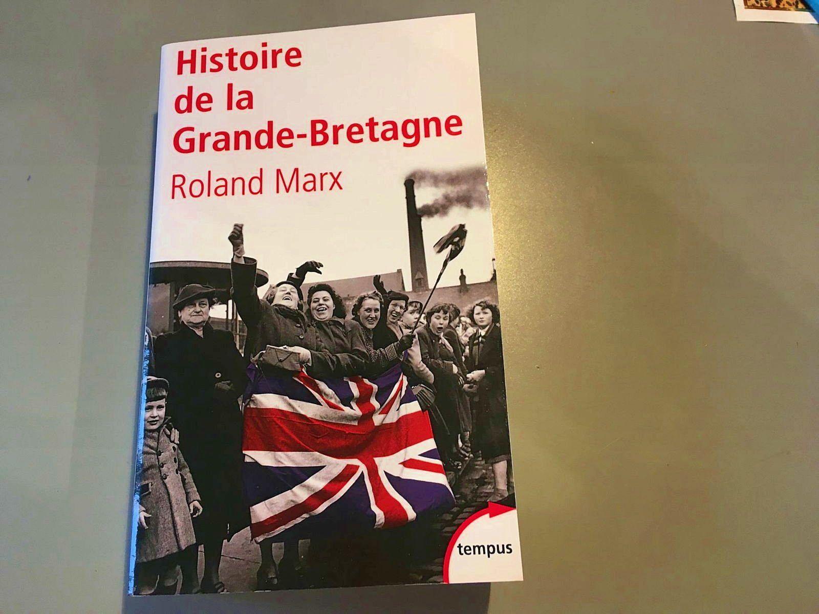 Vends Livre sur l'Histoire de la Grande-Bretagne de Marx