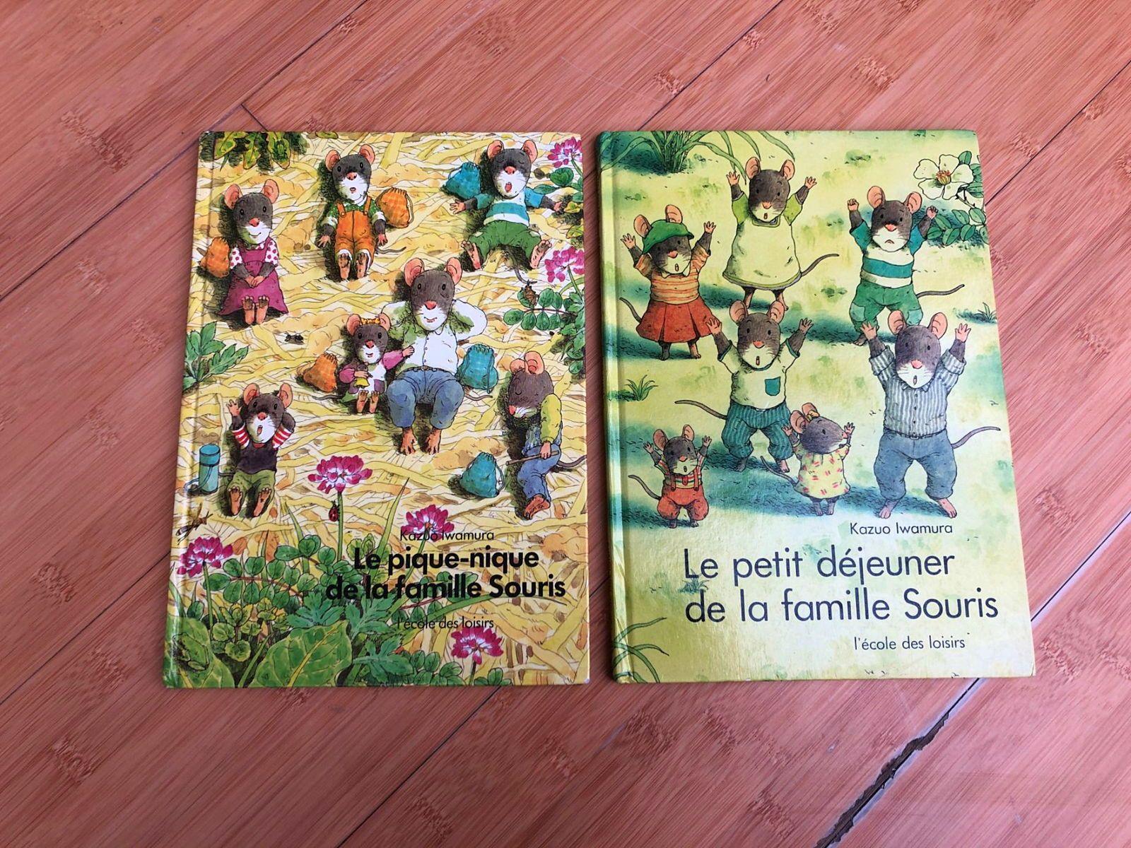 Vends lots de livres enfant de la Famille Souris