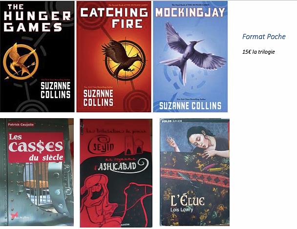 Vends livres pour enfants/adolescents