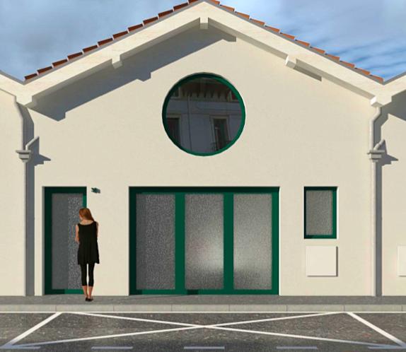 Vends local Bayonne 60m² à réhabiliter avec PC