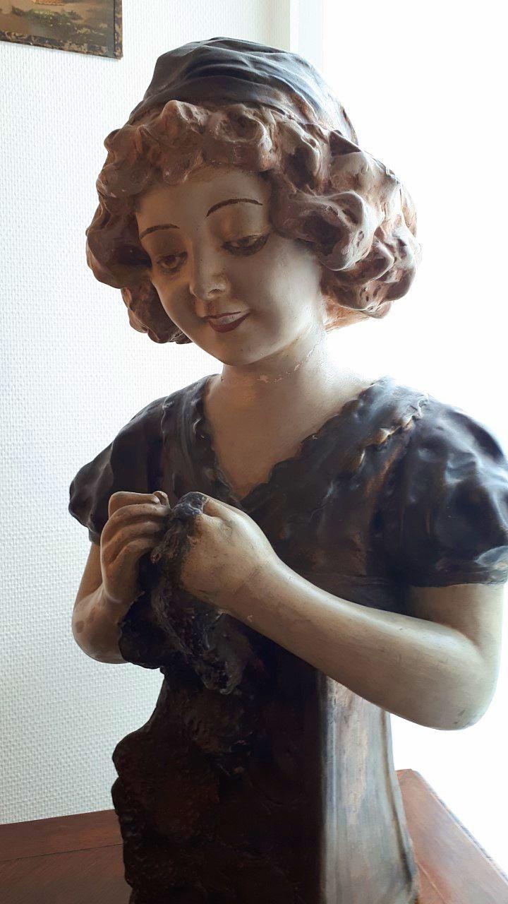 Vends une magnifique statue fin Art Nouveau