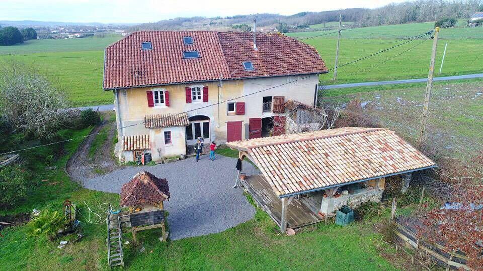 Vends maison 227m² 4chambres - Ramous (64)