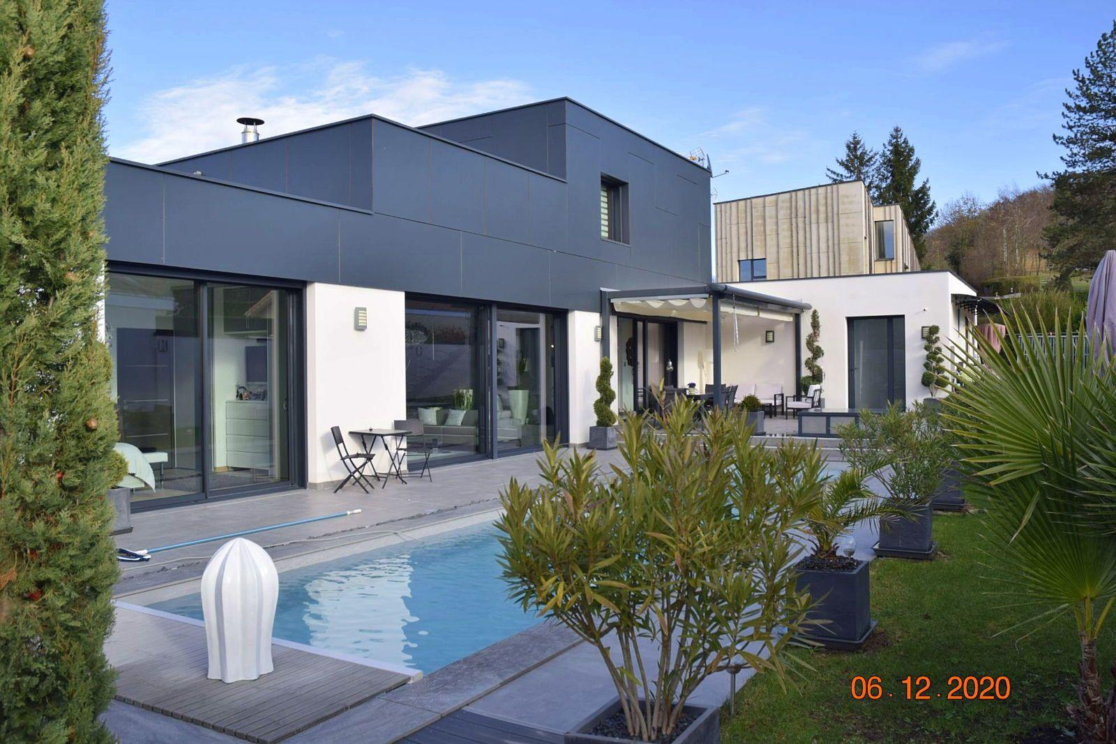 Vends Maison Architecte 167m² + 80m² dépendances - 4chambres - Ruy-Montceau (38)