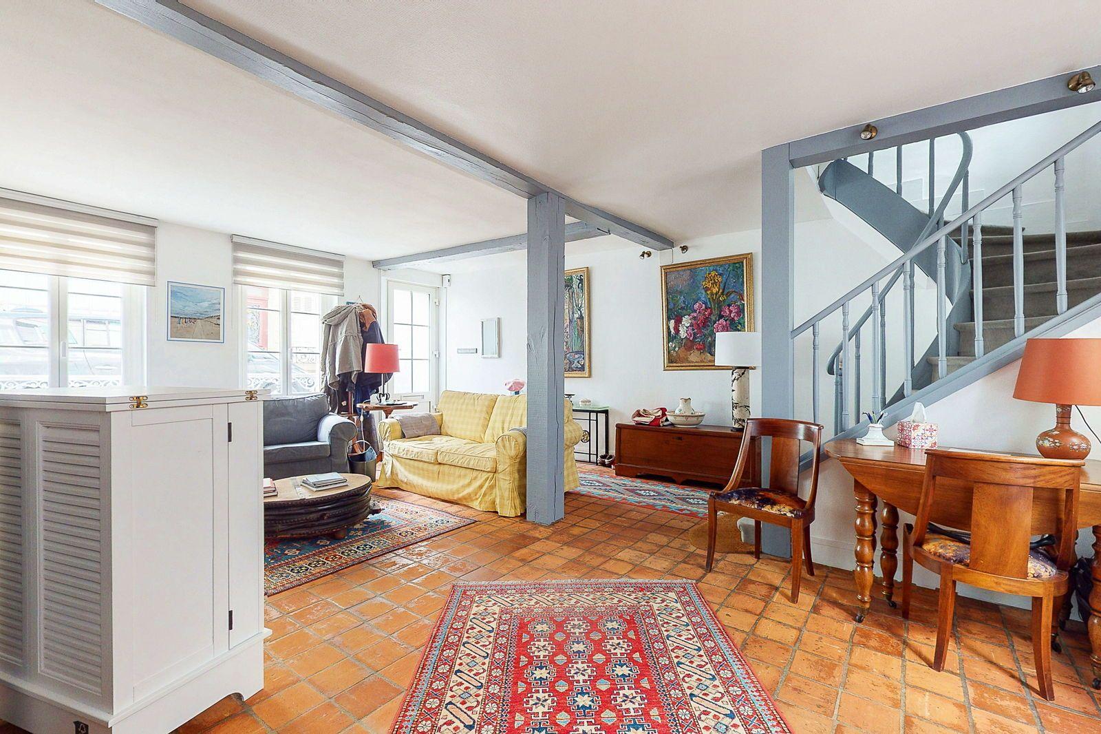 Vends maison 140m² centre de Trouville (14) avec 5chambres