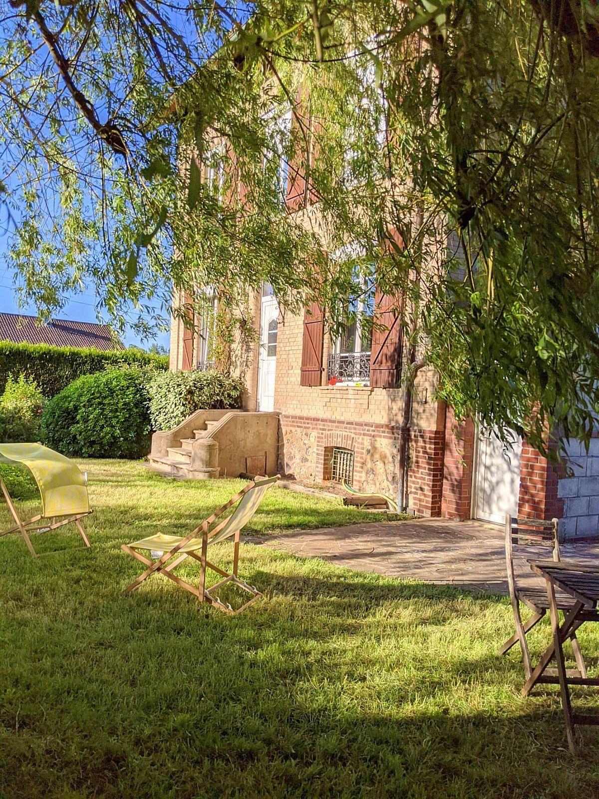 Vends une maison 4chambres 120m² + 2500m² de jardin près d'Honfleur, La Rivière-Saint-Sauveur (14)