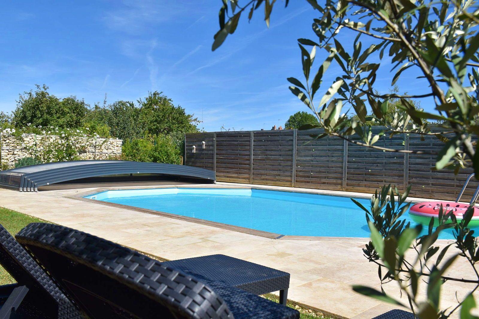 Vends Maison 5chambres 187m² au coeur du village de Noyen sur Sarthe