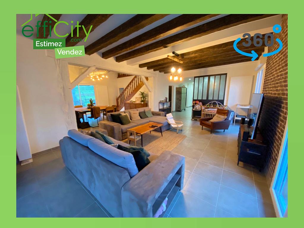 Vends maison de 280m² avec 5chambres complètement rénovée - La Flèche (72)