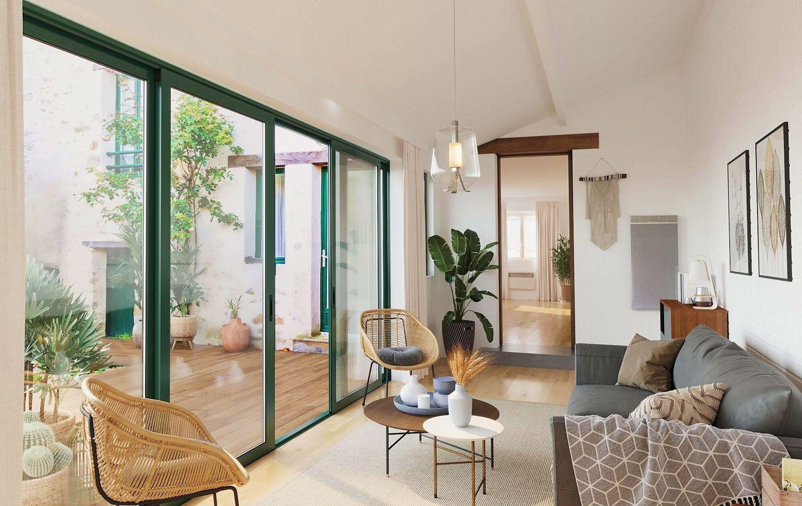 Vends maison de charme dans le centre historique de Piriac-sur-Mer - 4chambres, 110m²
