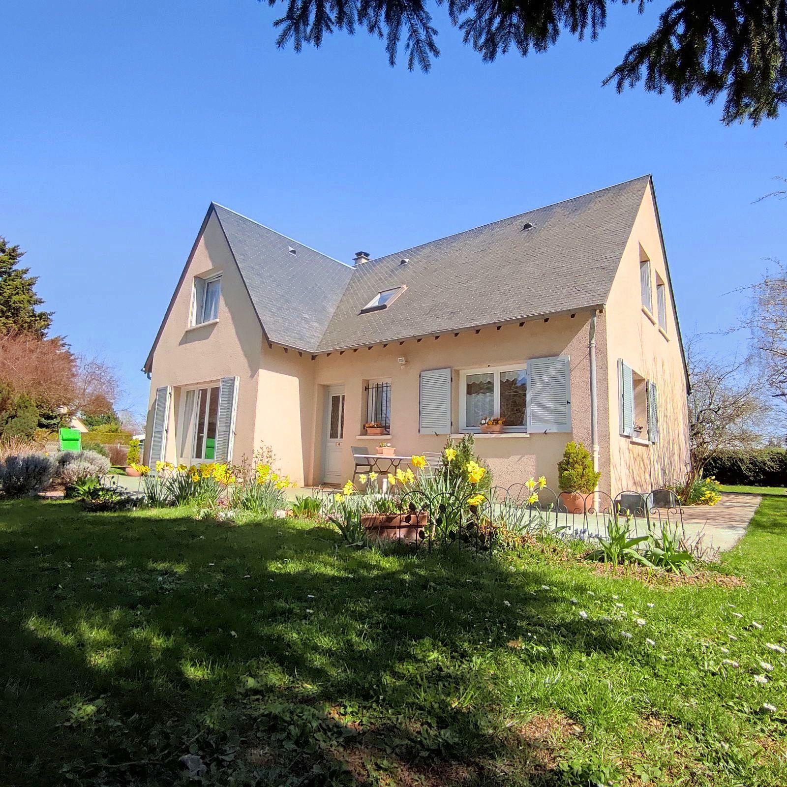 Vends maison indépendante 4chambres avec dépendance - 136m² - Rambouillet (78)