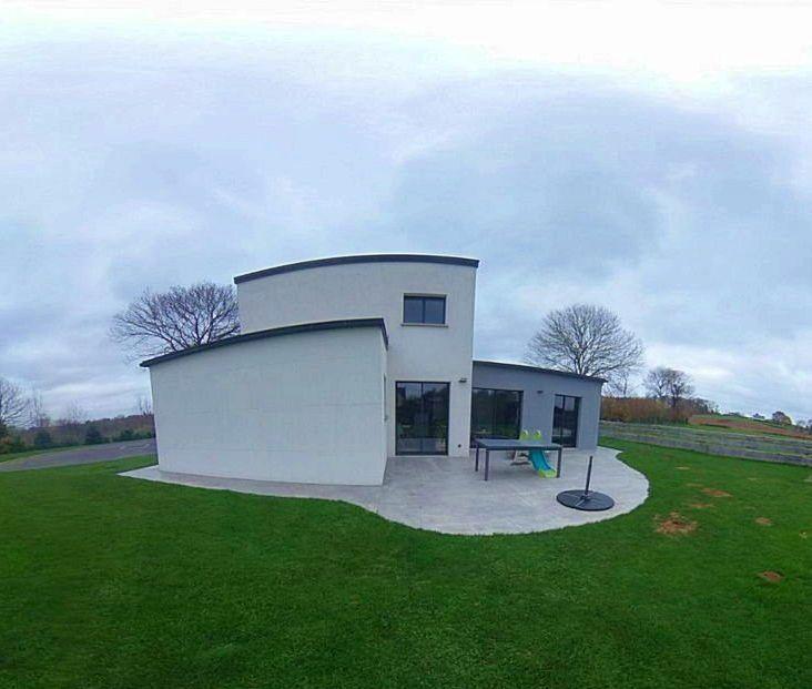 Vends Maison moderne près d'Avranches - Le Mesnil-Ozenne (50) - 4chambres, 130m²