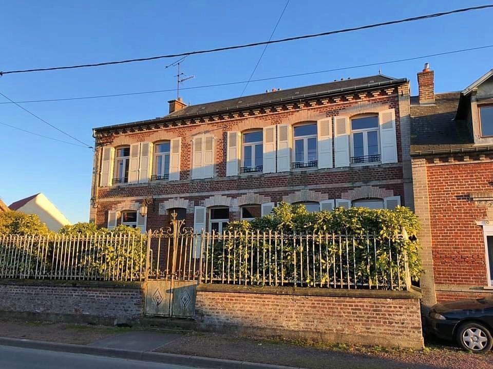 Vends Maison 7ch à moins d'1h30de Paris - 230m² - Villeselve (60640)