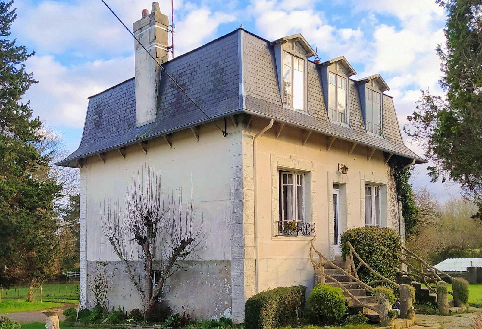 Vends maison à rafraîchir aux portes de Granville (50) - 110m²