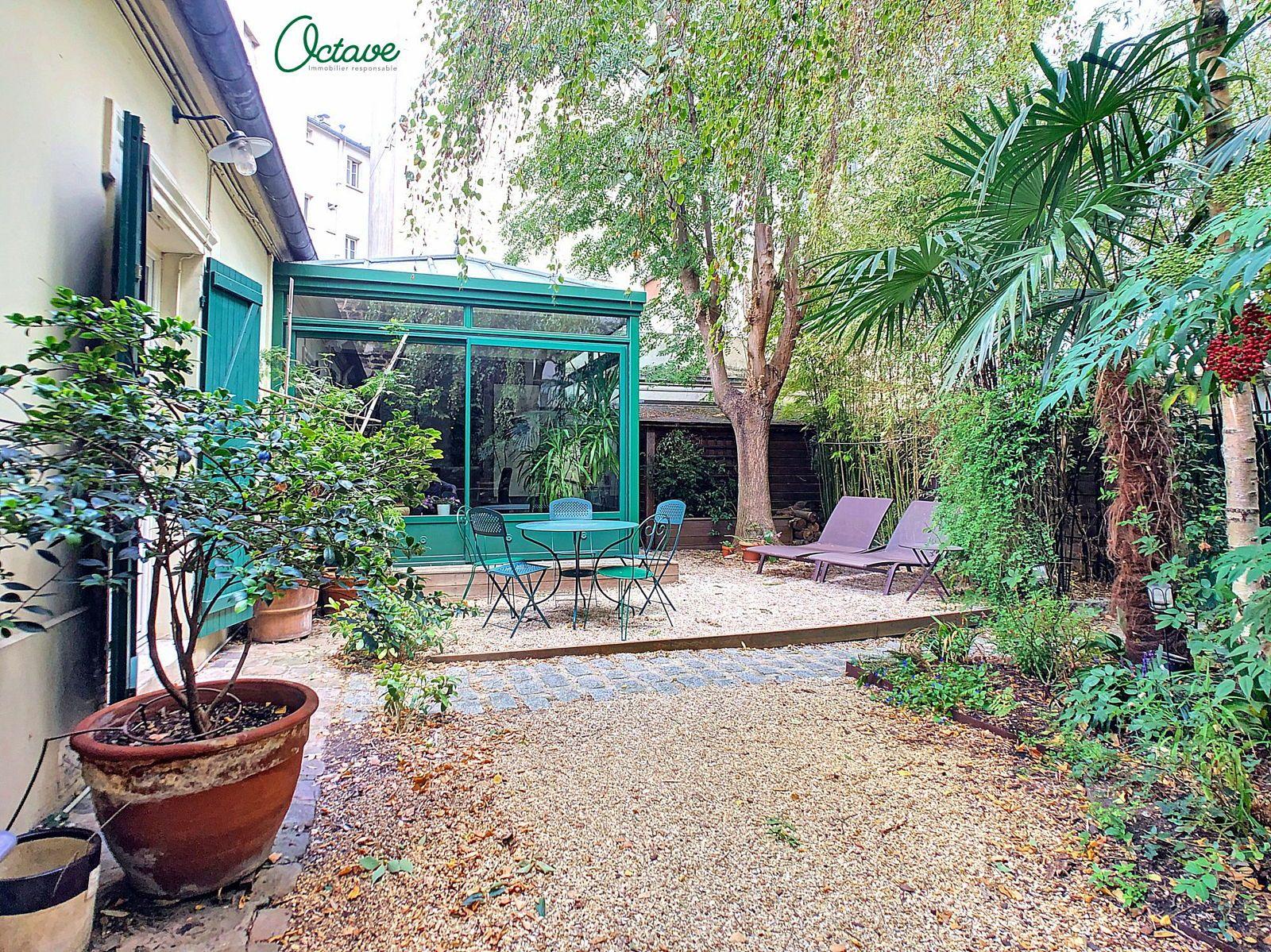 Vends Maison de ville avec 95m² de jardin- Paris 12ème - 3chambres