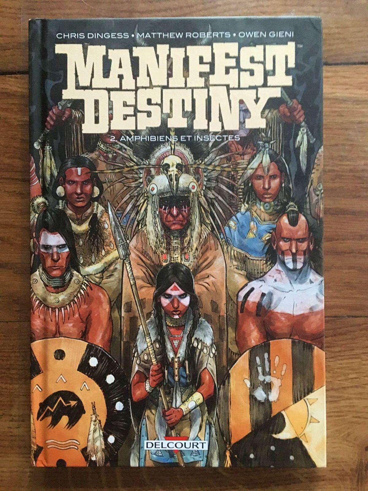 Vends BD Manifest destiny T02: Amphibiens et insectes, très bon état