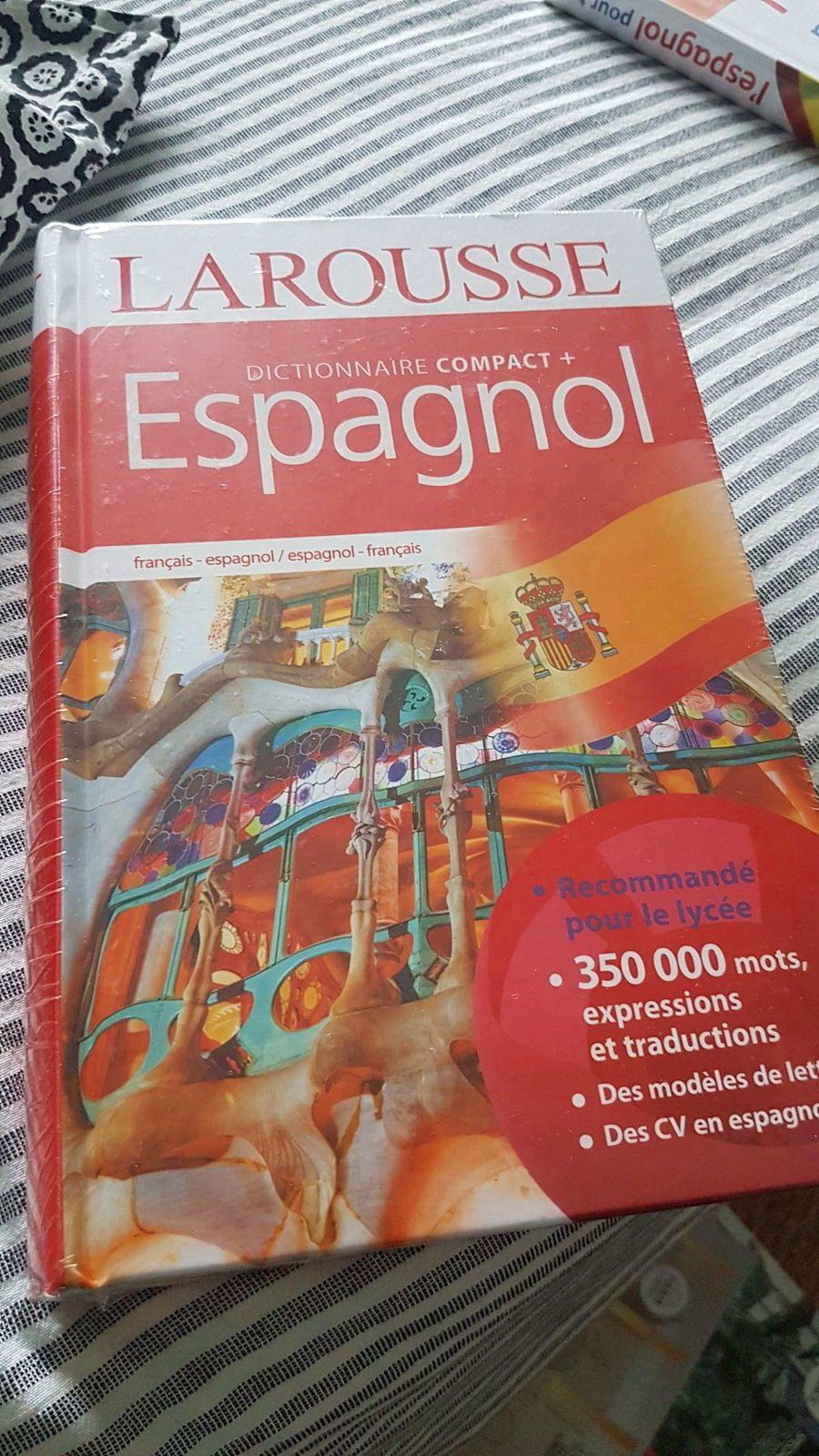 Vends livres espagnol