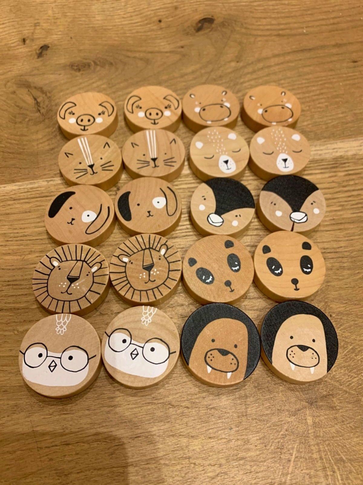 Vends jeu memory (pièces en bois)