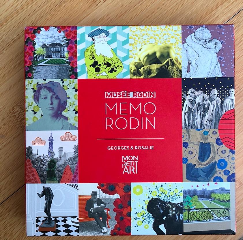 Vends jeu Memory Musée Rodin