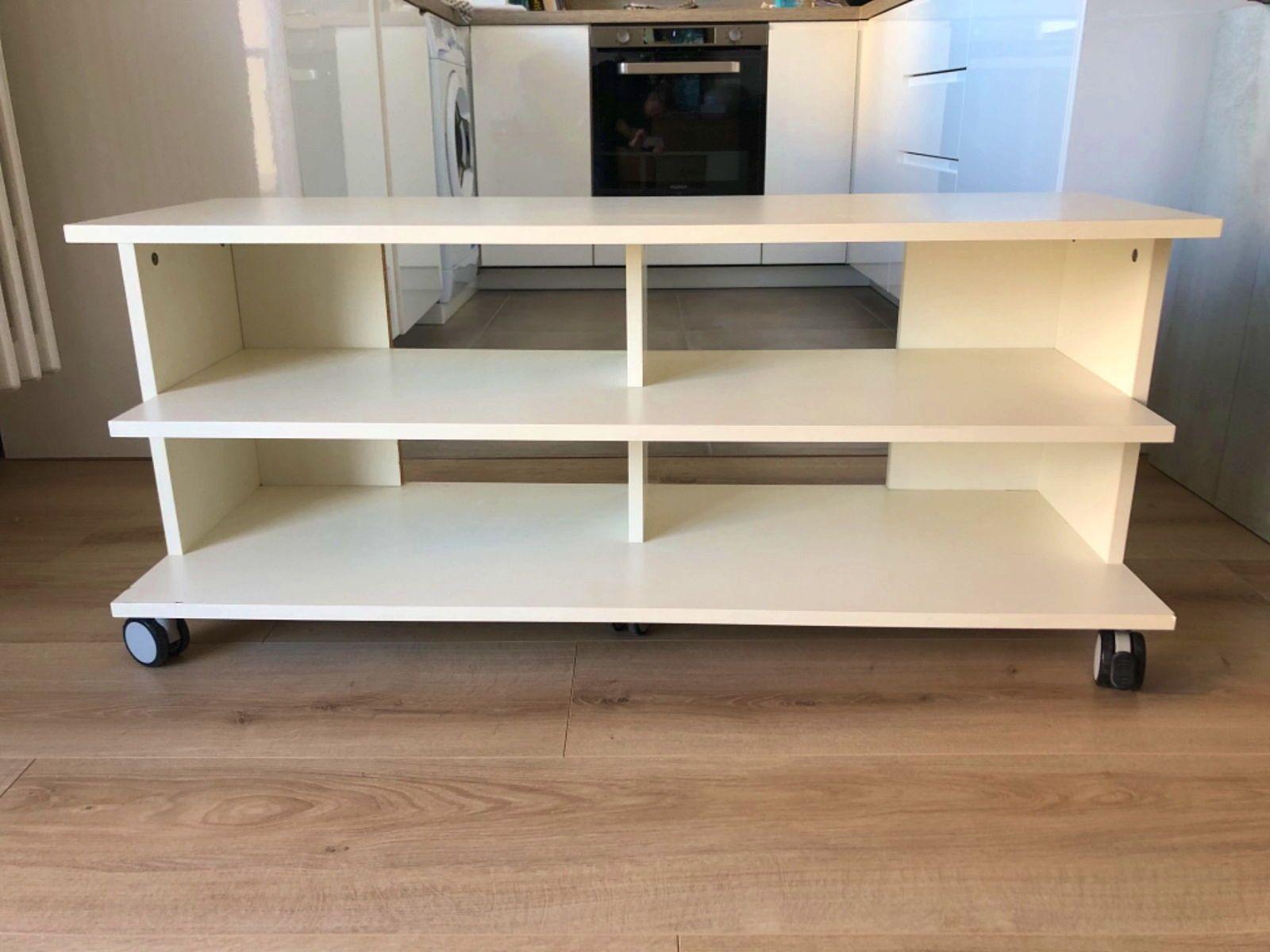 Vends meuble TV blanc