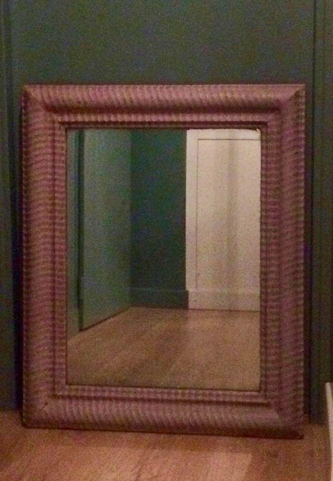 Vends miroir ancien de belle patine