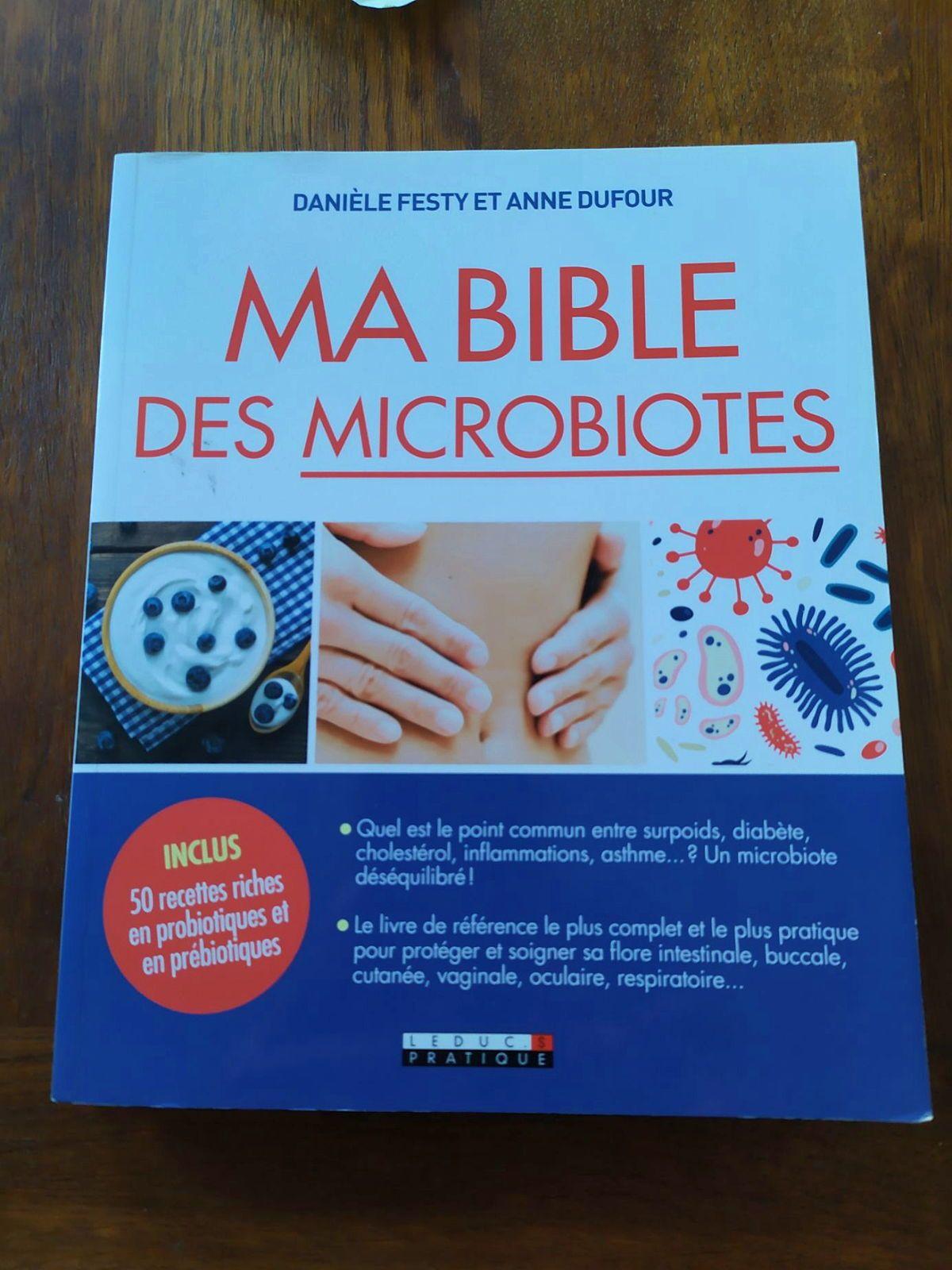 Vends ouvrage sur le microbiote