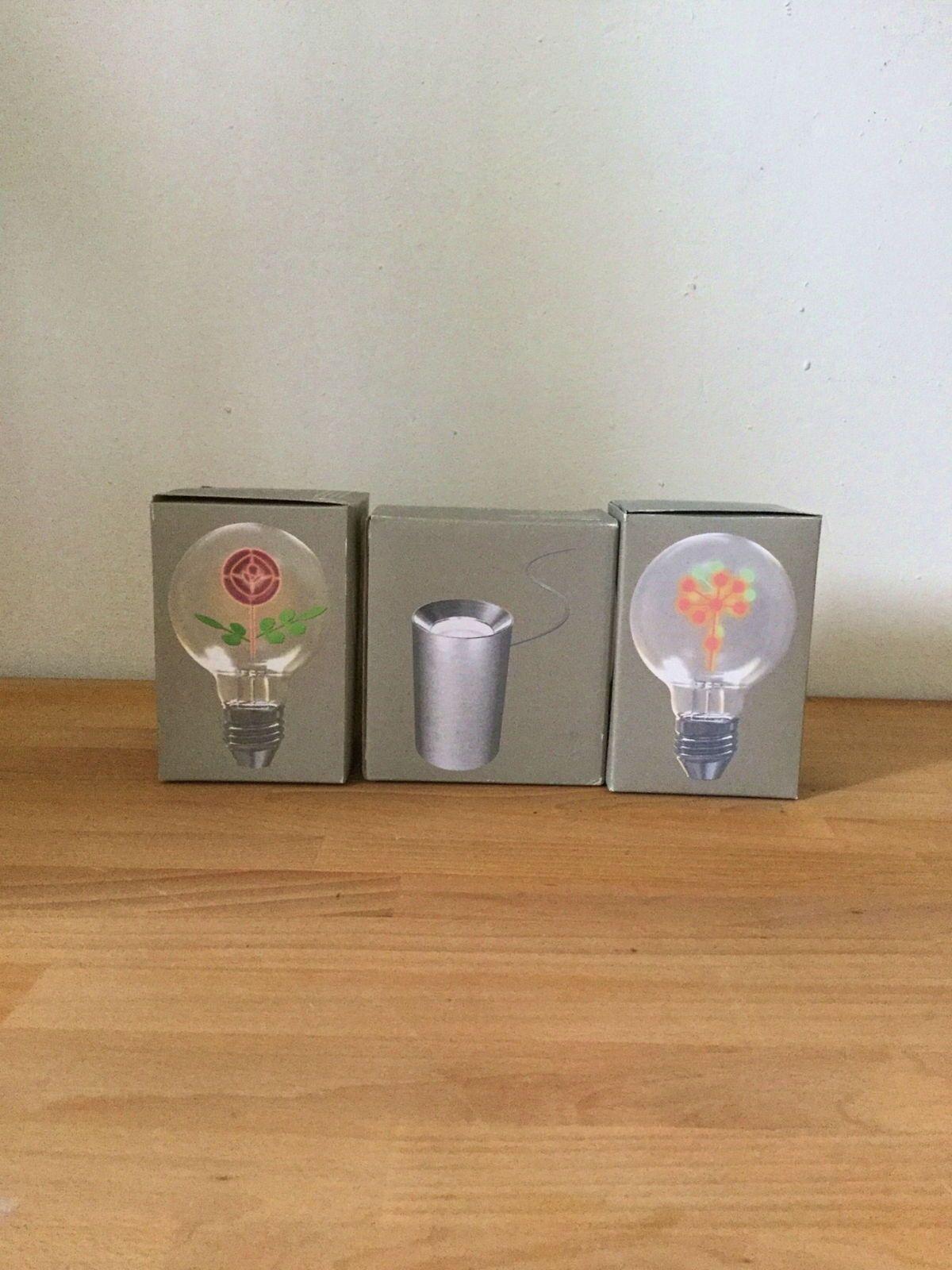 Je vends petite lampe deco; support +2ampoules deco, Habitat