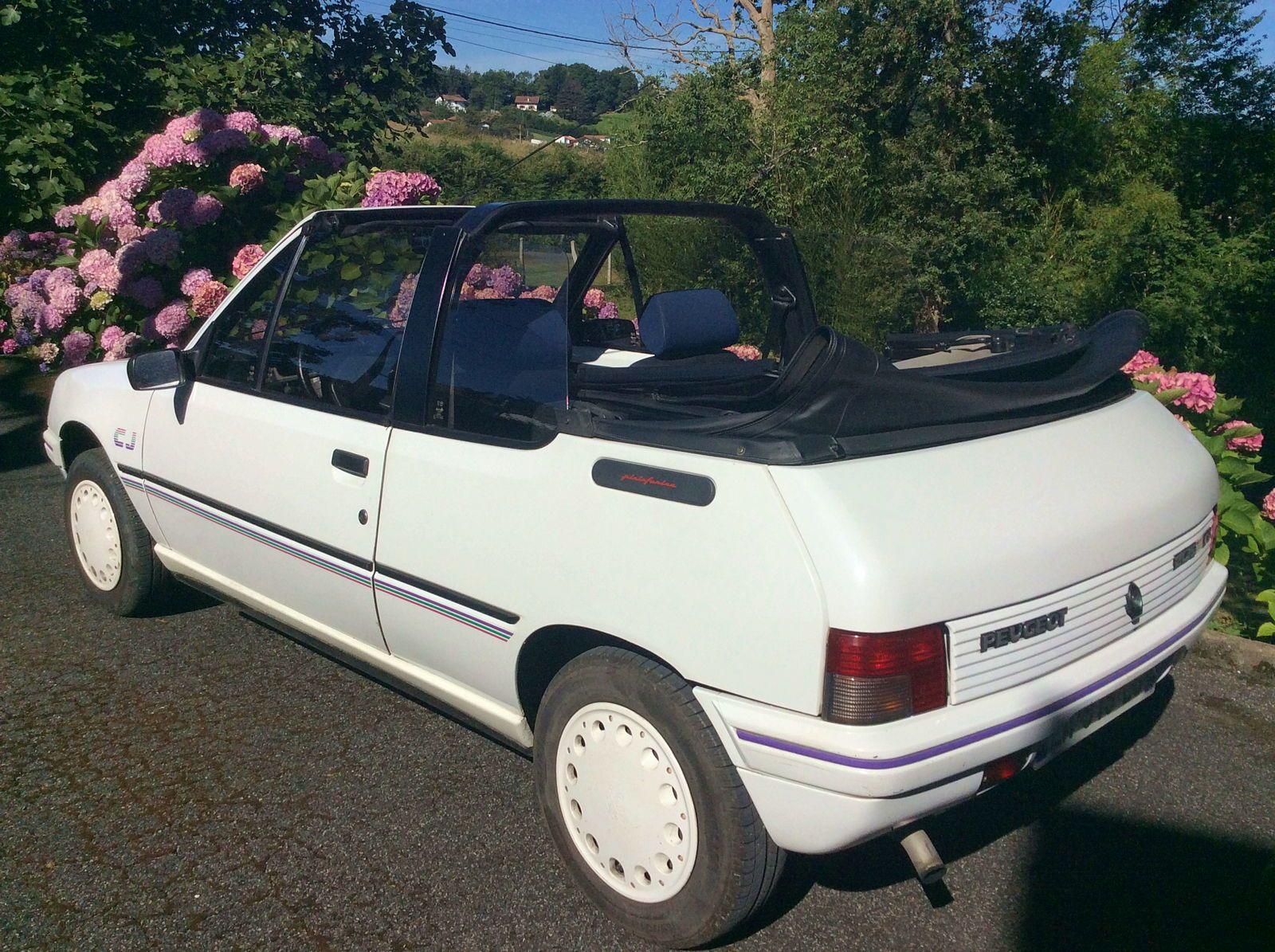 Vends Peugeot Cabriolet 205CJ - 1992, 107000km