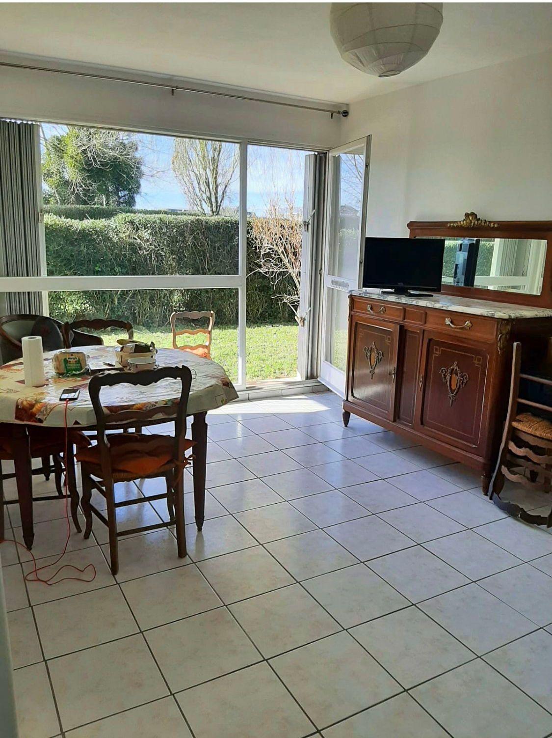 Vends 2pièces rez de jardin de 34m² à Cabourg résidence St Michel 2