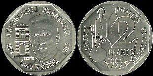 Vends pièces de monnaie en francs