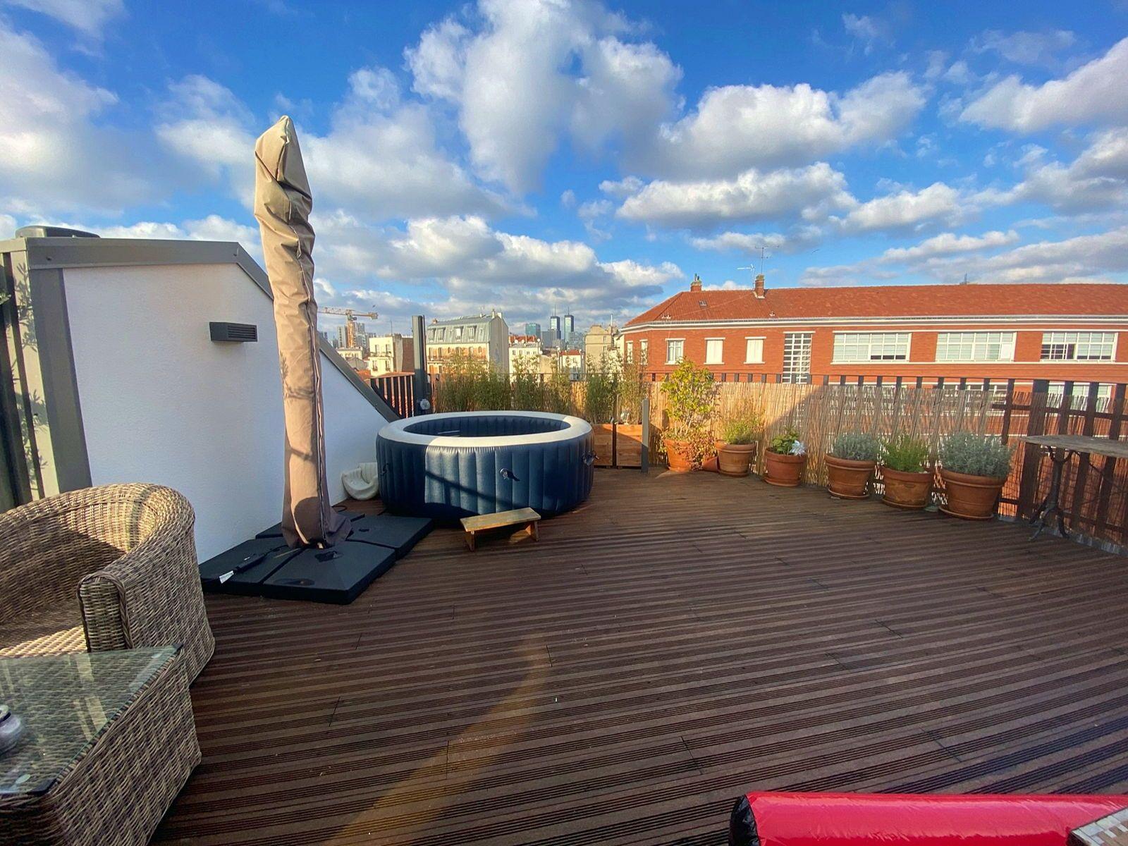 Vends 7pièces de 154m² avec Terrasse de 30m² Bas Montreuil (93)