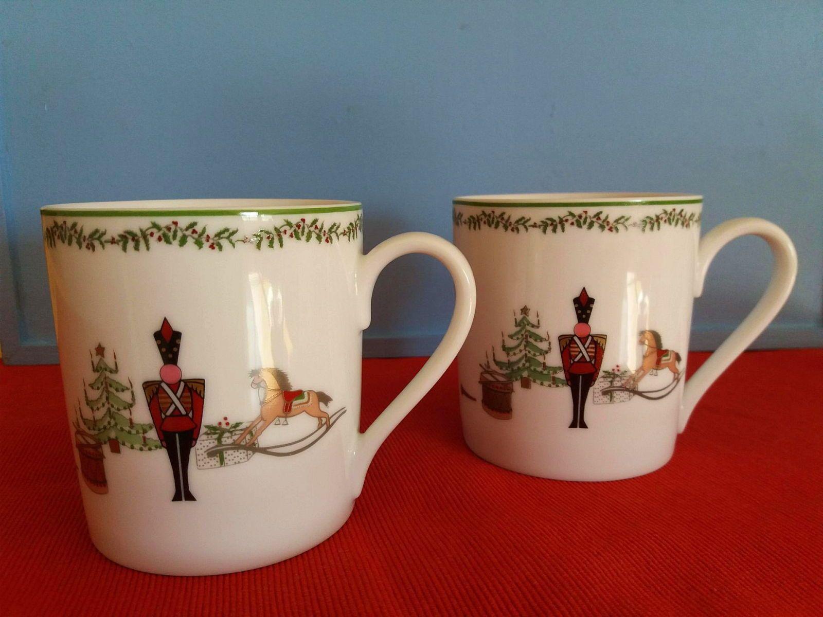 Vends mugs de Noël en porcelaine BERNARDAUD