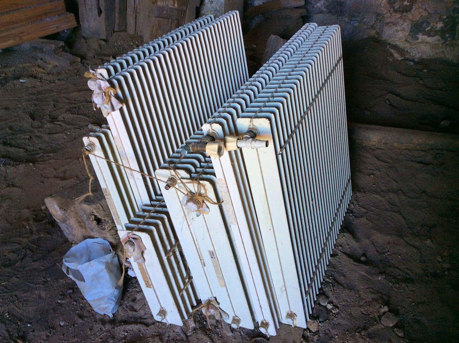 Vends radiateurs alu anciens