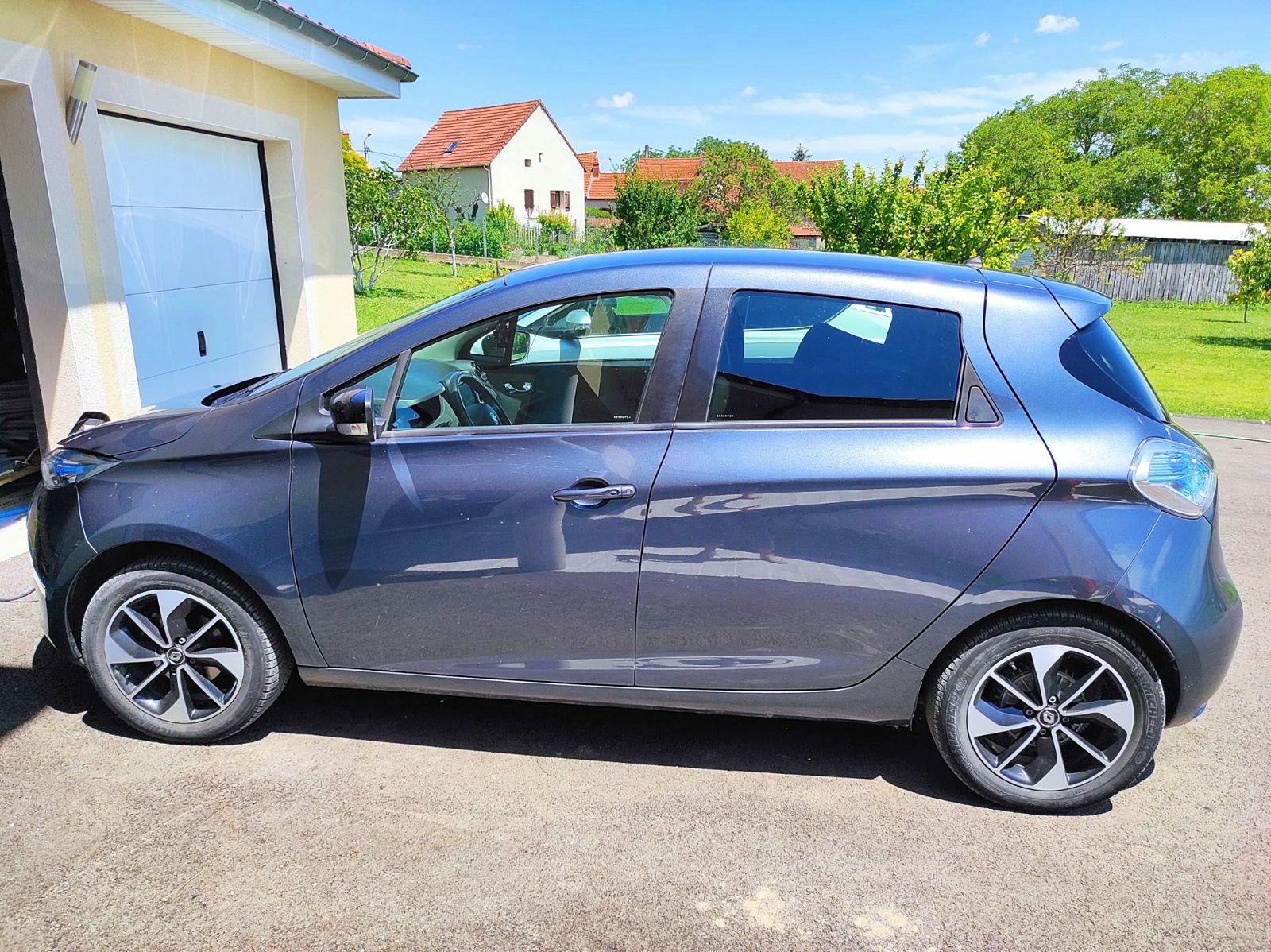 Vends Renault Zoe intens, électrique, 06/2018, 45000km