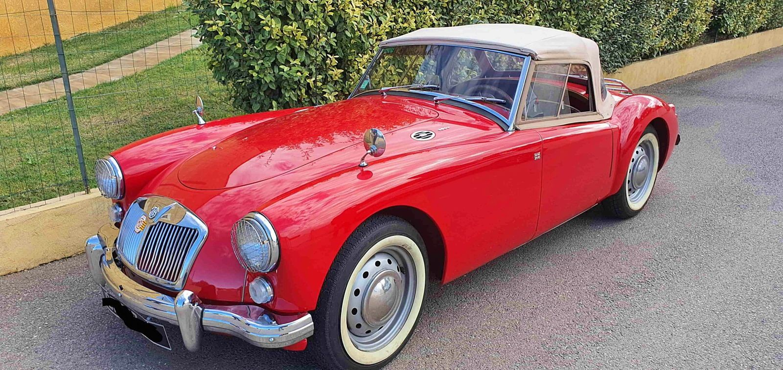 Vends MGA 1600 Roadster - 1961