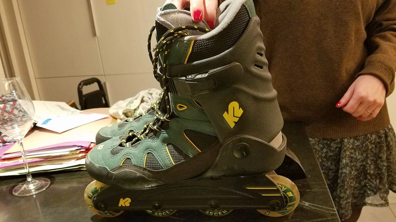 Vends Rollers K2quasi neuf taille 42