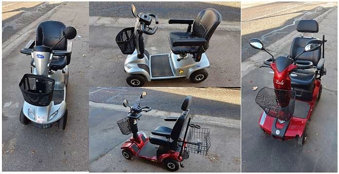 Vends 2Scooters 4roues Electrique 2018